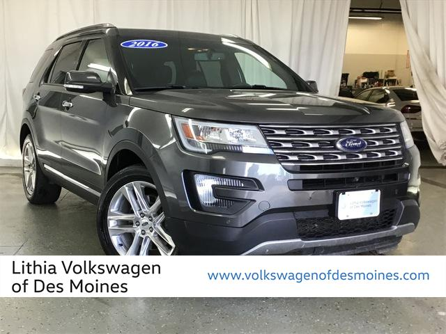 Pre-Owned 2016 Ford Explorer 4WD 4dr Limited
