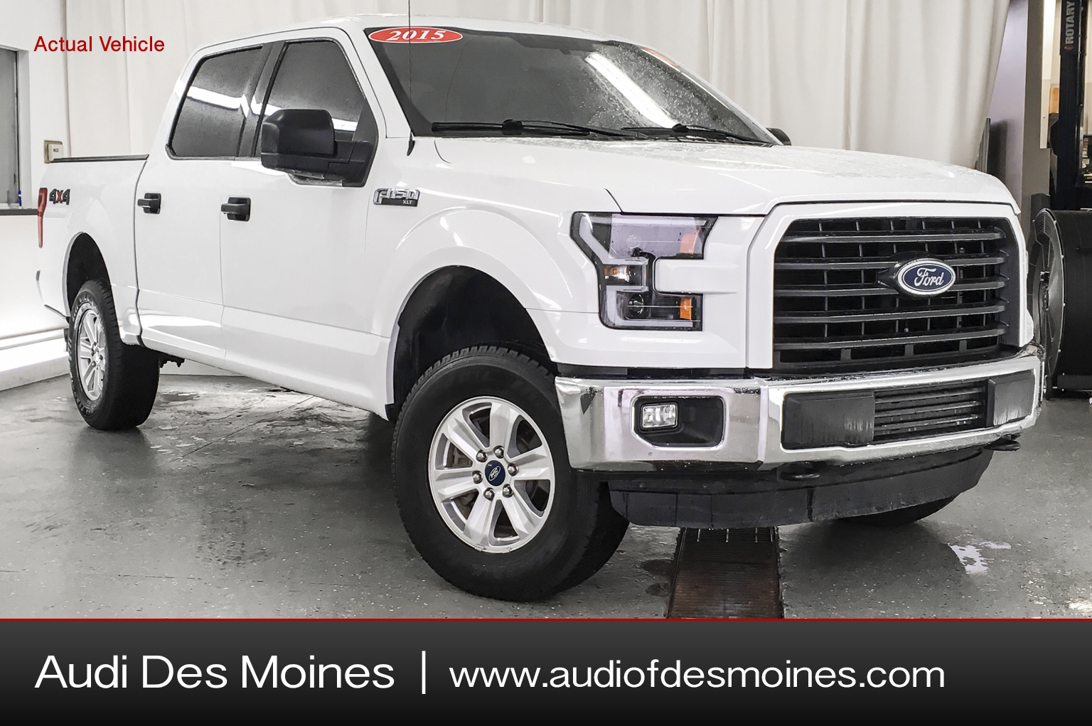 Pre-Owned 2015 Ford F-150 4WD SUPERCREW 145