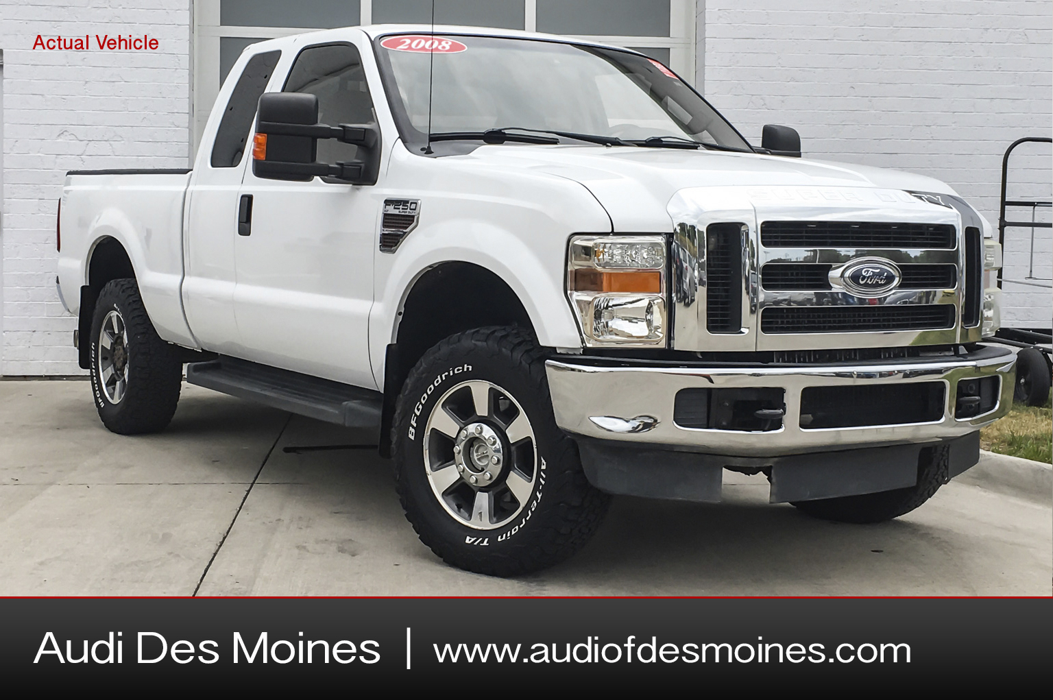Pre-Owned 2008 Ford F-250 4wd Supercab