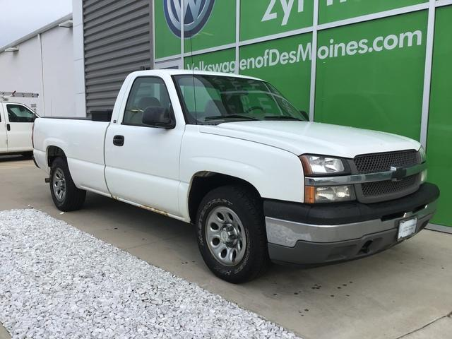2005 Chevy Silverado For Sale >> Pre Owned 2005 Chevrolet Silverado 1500 Reg Cab 119 0 Wb Rwd Regular Cab Pickup