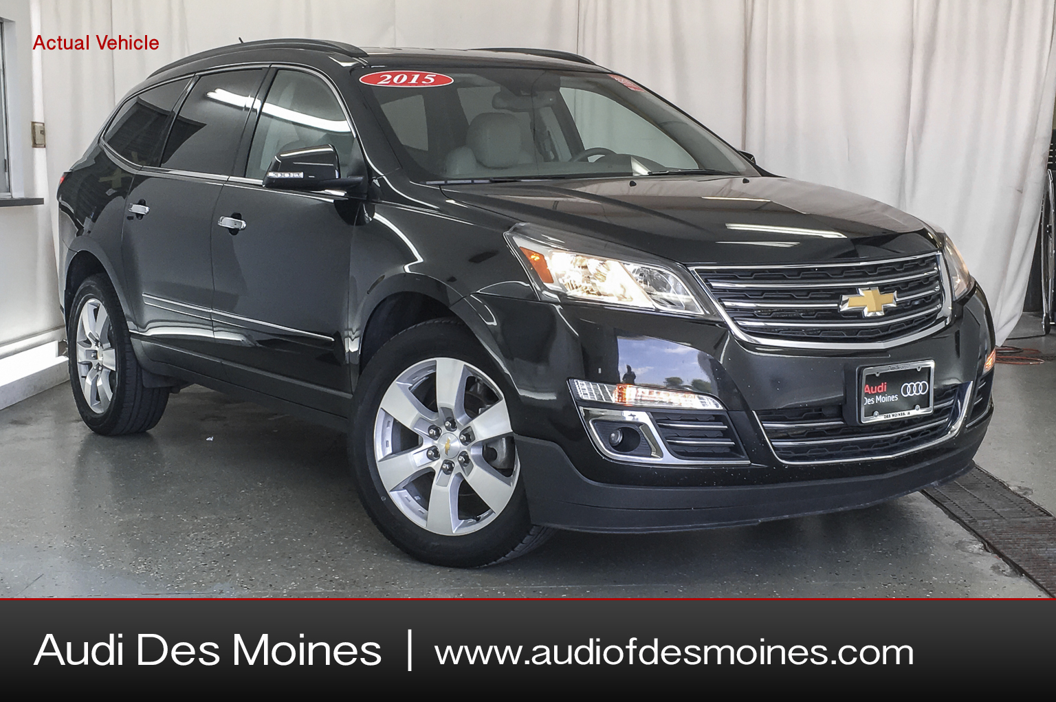 Pre-Owned 2015 Chevrolet Traverse AWD 4DR LTZ