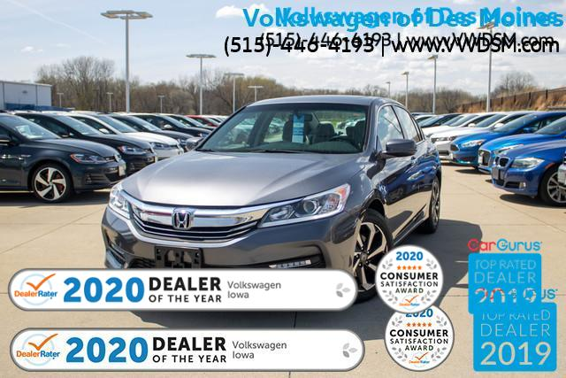 Pre-Owned 2016 Honda Accord 4dr I4 CVT EX