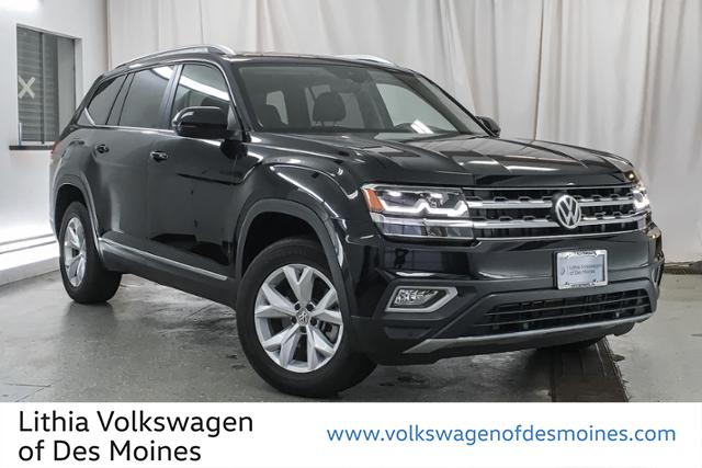 Certified Pre-Owned 2018 Volkswagen Atlas 3.6l V6 Sel Fwd