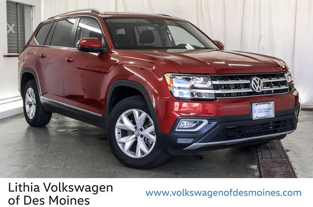 Pre-Owned 2018 Volkswagen Atlas 3.6l V6 Sel 4motion