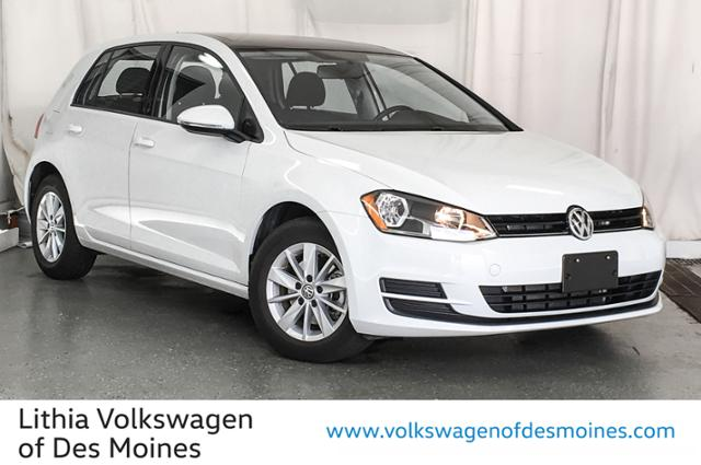 Certified Pre-Owned 2016 Volkswagen Golf 4dr HB Auto TSI S w/Sunroof