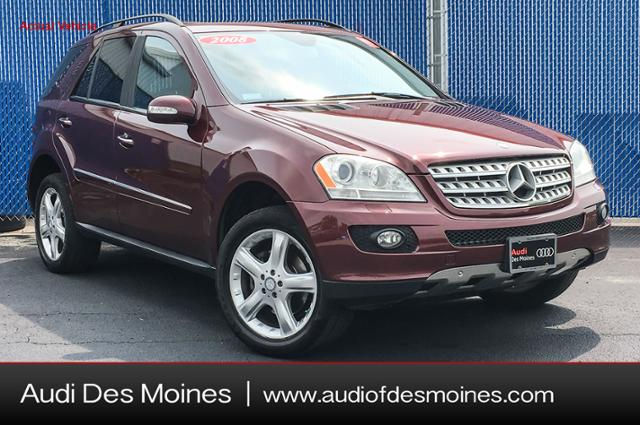 Pre Owned 2008 Mercedes Benz M Class 4MATIC® 4dr 3.5L