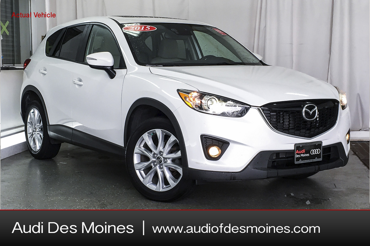 Pre-Owned 2015 Mazda Cx-5 AWD 4DR AUTO GRAND TOURING