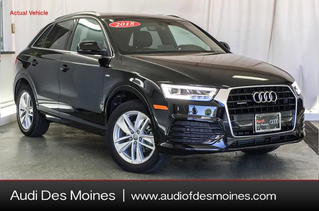 Pre-Owned 2018 Audi Q3 2.0 TFSI Premium Plus quattro AWD