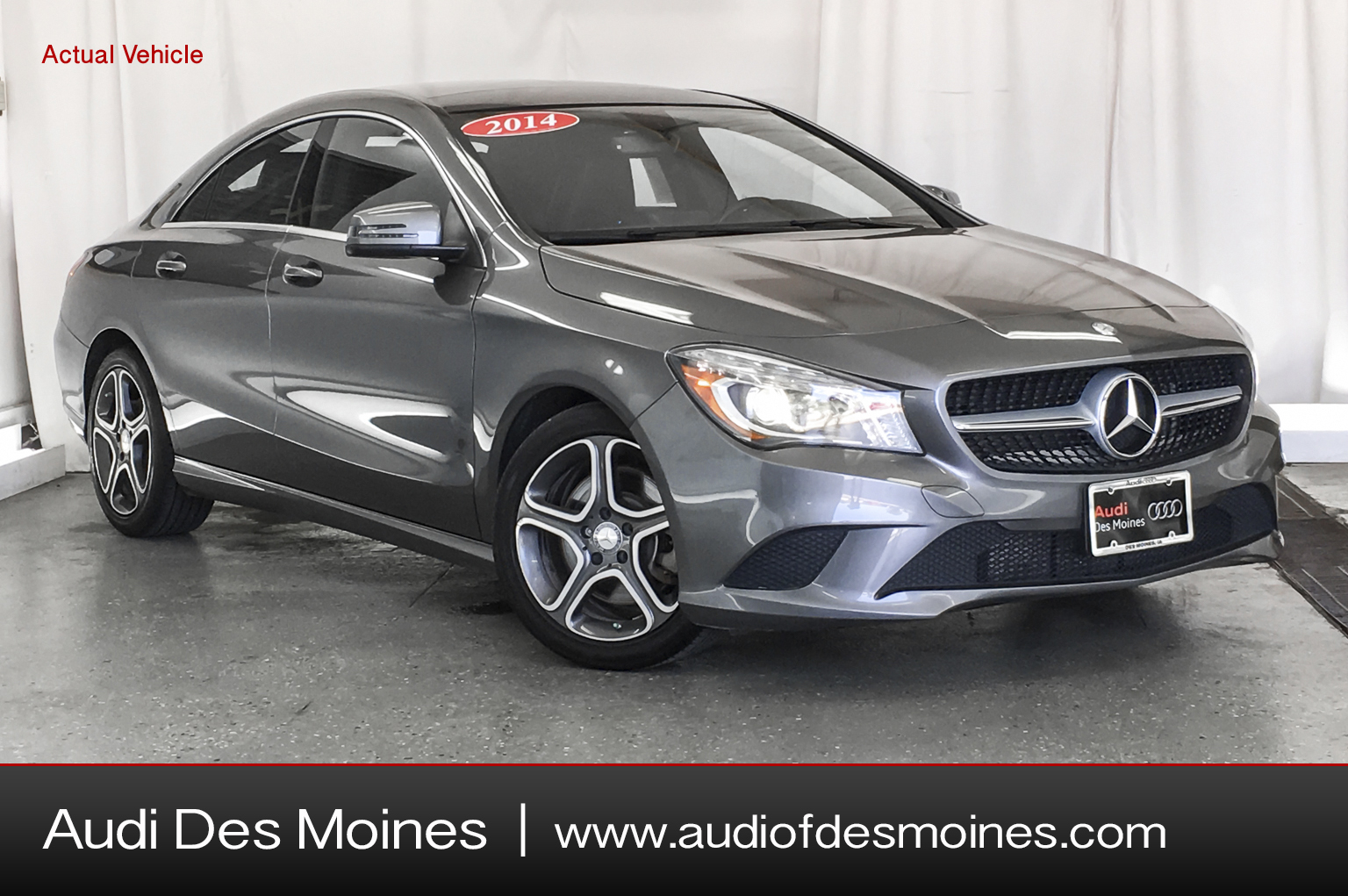 Pre-Owned 2014 Mercedes-Benz Cla 250 4DR SDN CLA250 FWD