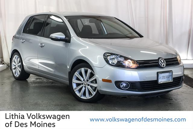 Certified Pre-Owned 2014 Volkswagen Golf 4dr HB DSG TDI