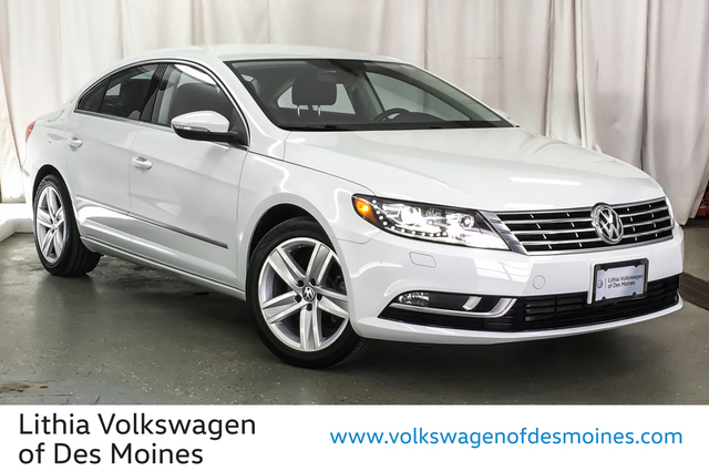 Certified Pre-Owned 2017 Volkswagen CC 2.0T Sport DSG PZEV
