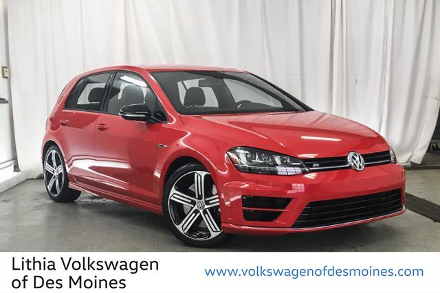Certified Pre-Owned 2016 Volkswagen Golf R 4dr HB Man