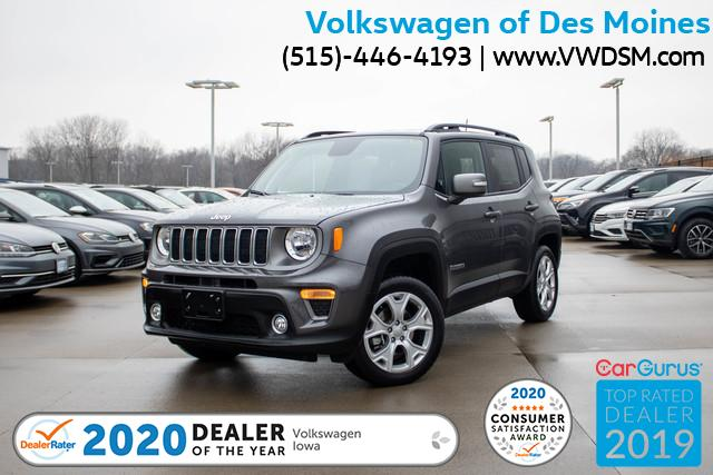 Pre-Owned 2019 Jeep Renegade Limited 4x4