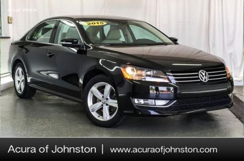 Pre-Owned 2015 Volkswagen Passat 4DR SDN 1.8T PZEV