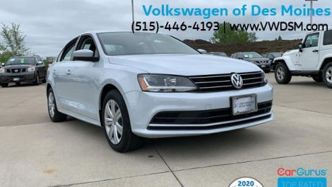 Pre-Owned 2017 Volkswagen Jetta 1.4T S Manual