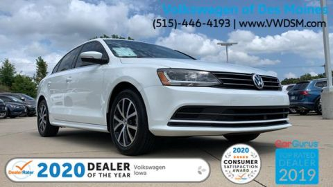 Certified Pre-Owned 2017 Volkswagen Jetta 1.4T SE Manual