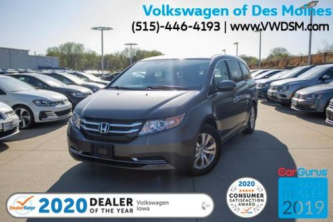 Pre-Owned 2014 Honda Odyssey 5dr EX-L w/RES