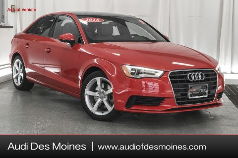 Pre-Owned 2015 Audi A3 1.8t 4DR SDN FWD 1.8T PREMIUM