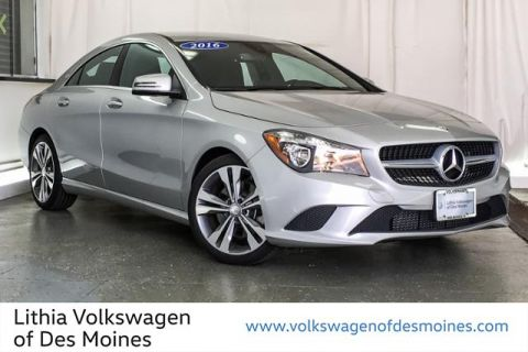Pre-Owned 2016 Mercedes-Benz Cla 250 4matic 4DR SDN CLA250 4MATIC