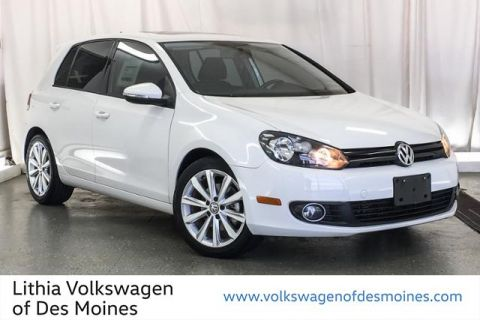 Certified Pre-Owned 2013 Volkswagen Golf 4dr HB DSG TDI w/Sunroof & Nav